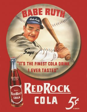 Babe Ruth - Red Rock Cola