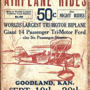 Airplane Rides 50 Cents