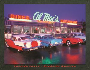 Al Mac's Diner (4-Cars Outside Diner)