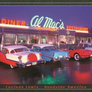 Al Mac's Diner (4-Cars Outside Diner)