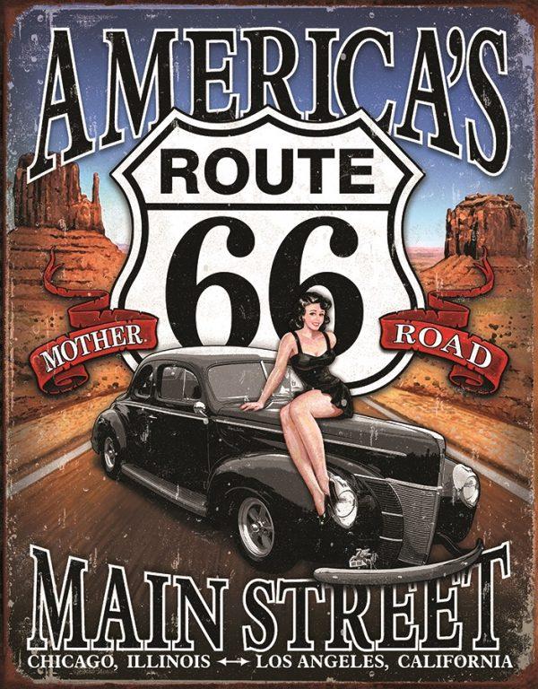 Americta's Route 66 Main Street