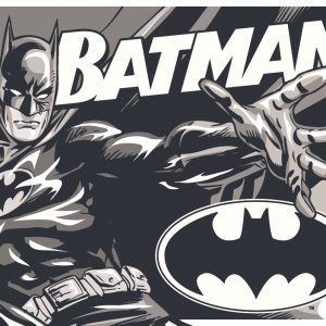 Batman (Black & White)