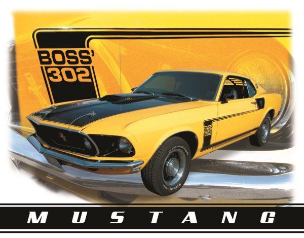 Boss' 302 Mustang