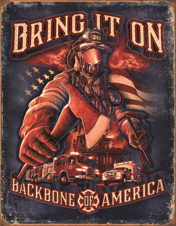 Bring It On - Fire Fighters - Backbone Of America