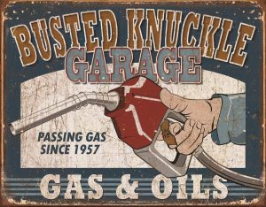 Busted Knuckle Garage - Gas & Oils
