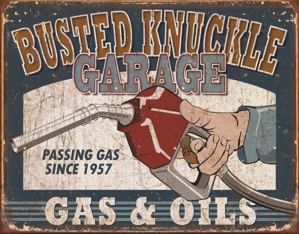 Busted Knuckle Garage - Gas & Oils