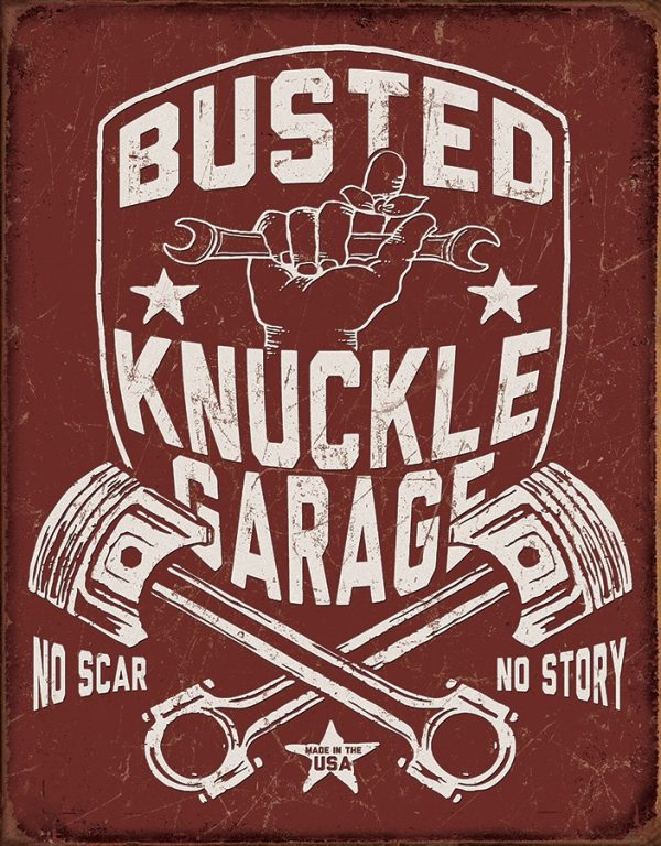 Busted Knuckle Garage - No Scar No Story