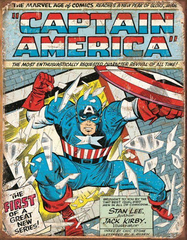 Captain America Comic Cover