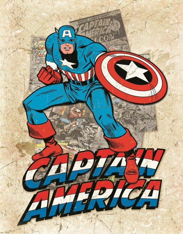 Captain America - Cover Splash