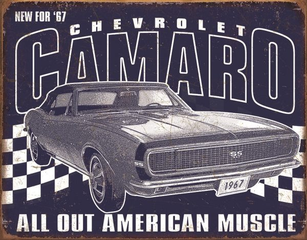 Chevrolet Camaro 1967 - All Out American Muscle