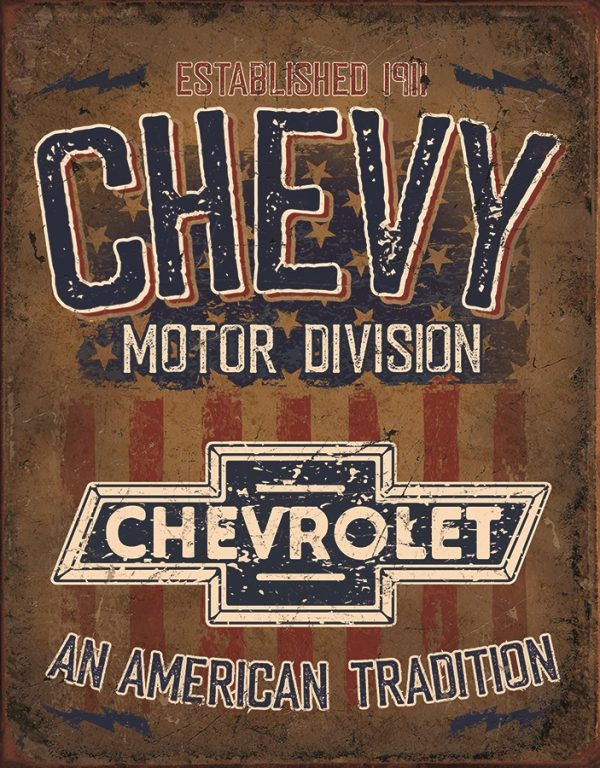 Chevy - Motor Division. An American Tradition