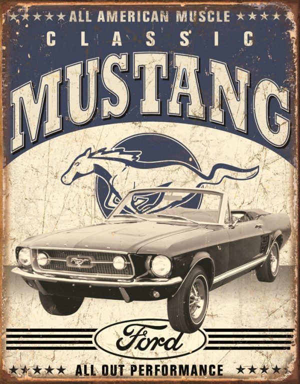 Classic Mustang - All American Muscle