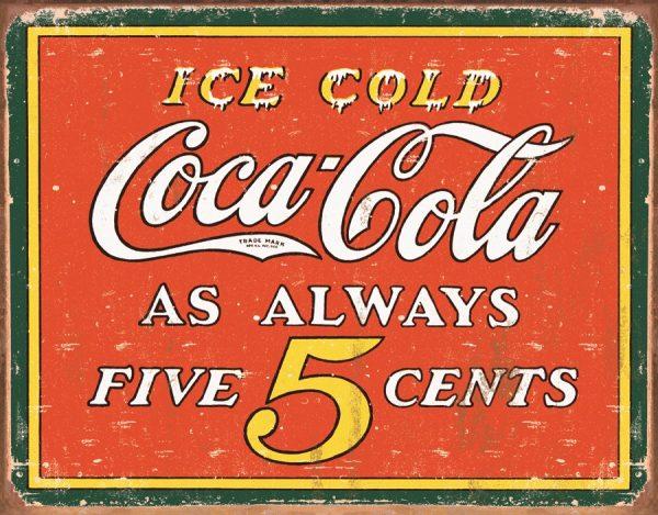 Coca Cola - As Always 5 Cents