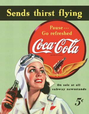 Coca-Cola Sends Thirst Flying
