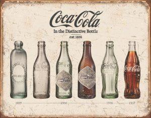Coca Cola (The Bottle Evolution)