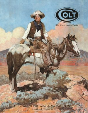 Colt - Tex And Patches (Man on Horse) on Mountain