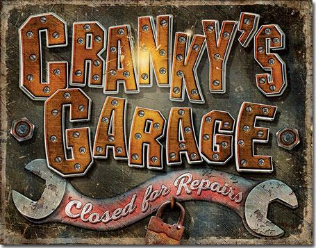 Cranky's Garage - Closed for Repairs