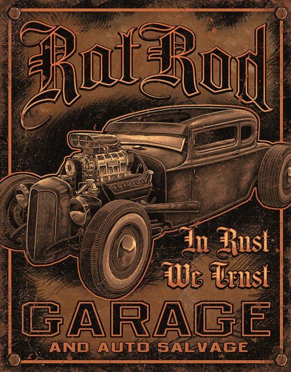 Rat Rod Garage - In Rust We Trust