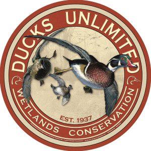 Ducks Unlimited - Wood Ducks (Round)