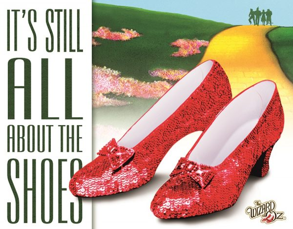 Wizard Of Oz - It's Still All About The Shoes