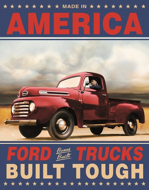America Ford Trucks Built Tough