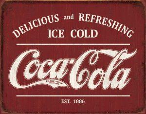 Delicious Refreshing Ice Cold Coca Cola