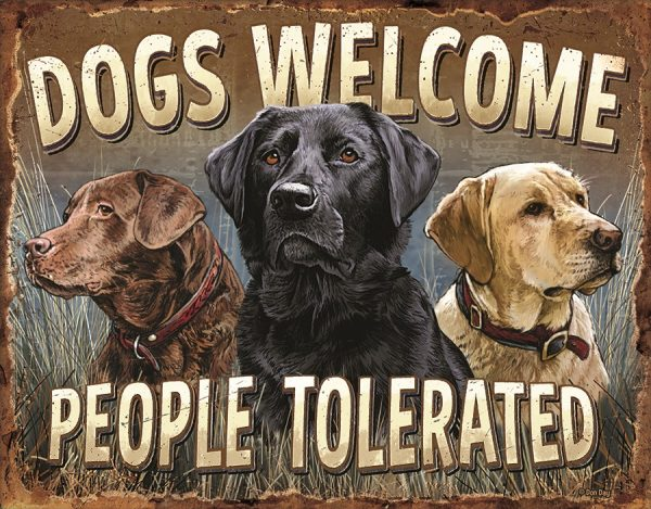 Dogs Welcomed - People Tolerate