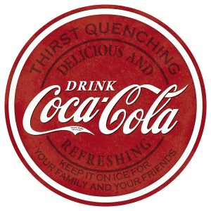 Drink Coca Cola - Thirst Quenching - Round