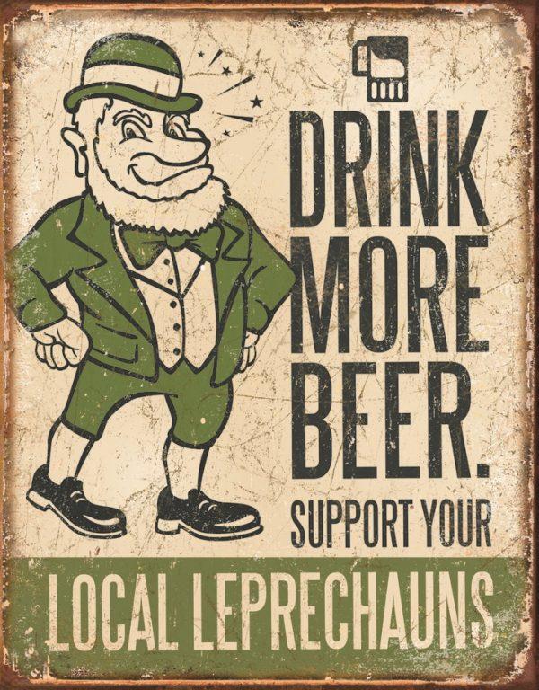 Drink More Beer….Leprechauns