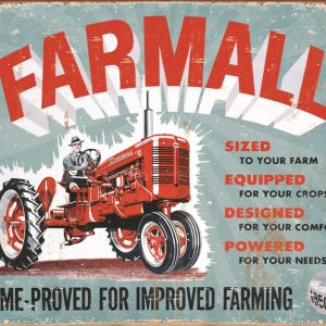 Farmall - Time - Proved For Improved Farming - Model A