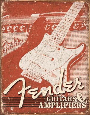 Fender - Guitars And Amplifiers (Weathered)