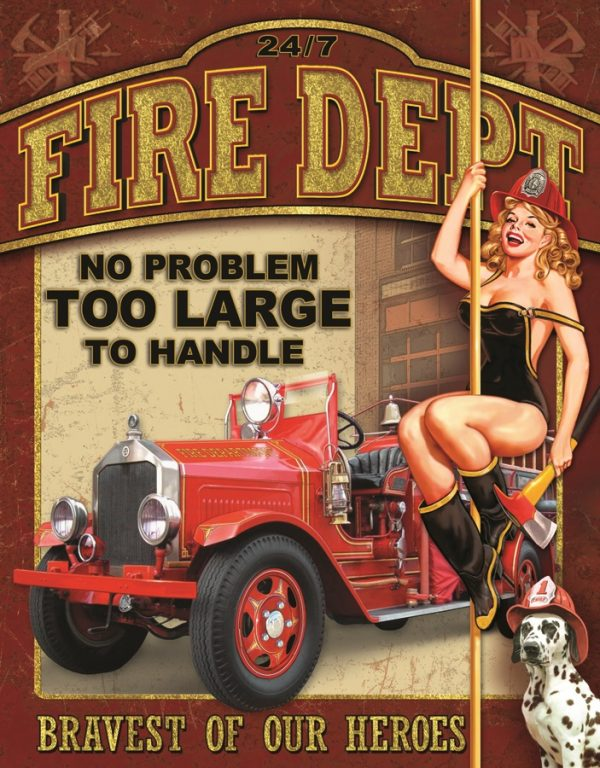 Fire Dept. No Problem Too Small To Handle
