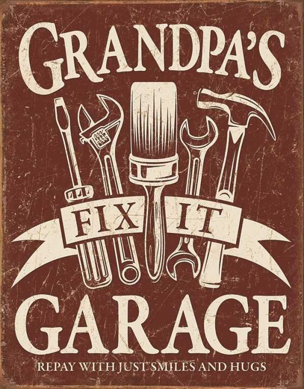 Grandpa's Fix It Garage