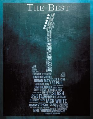 (Guitar) Shape With Artist's Inside