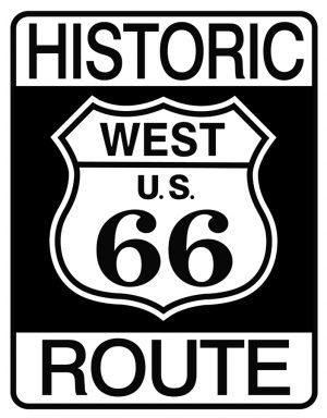 Historic West US Route 66