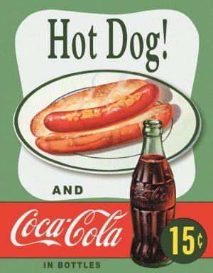 Hotdog & Coca-Cola 15 Cents