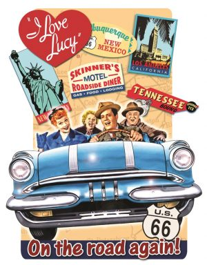 I Love Lucy - On The Road Again