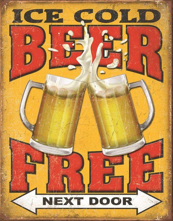 Ice Cold Beer - Free Next Door