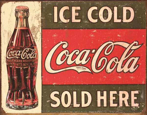 Ice Cold Coca Cola Sold Here (1916)