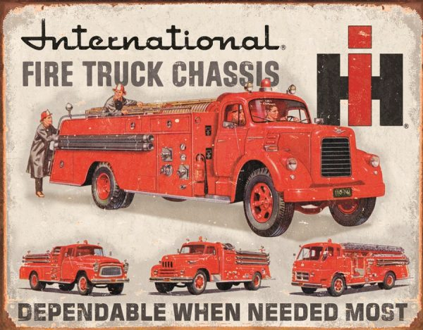 International Fire Truck Chassis - Dependable When Needed Most