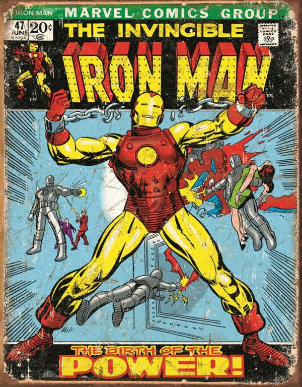 Ironman - The Birth Of Power