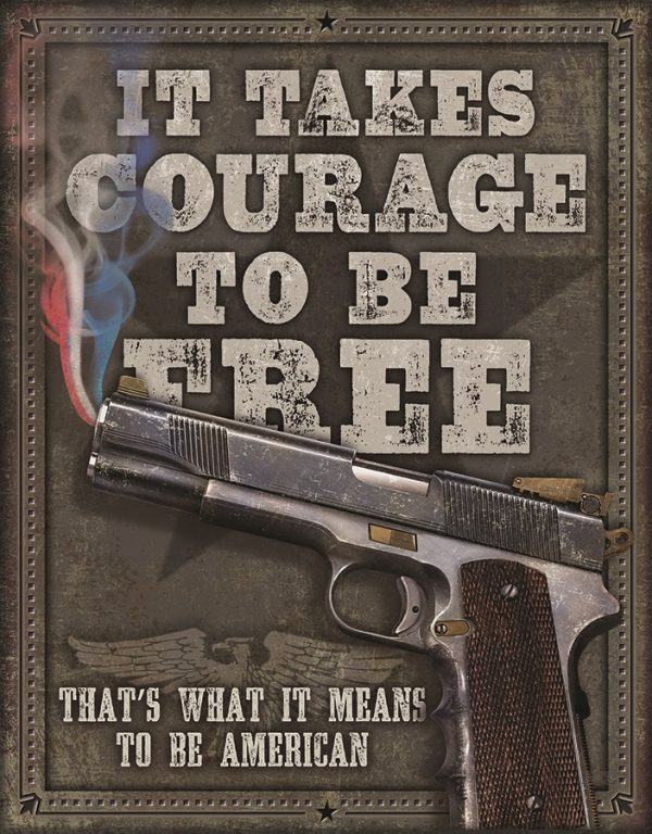 It Takes Courage To Be Free