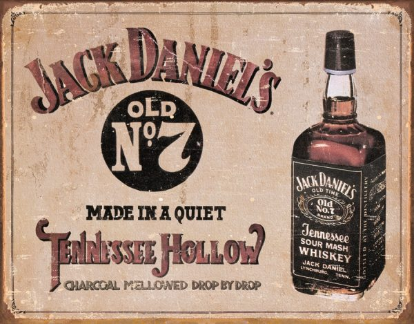 Jack Daniel's Old No. 7 - Made In A Quiet Tennessee Hollow