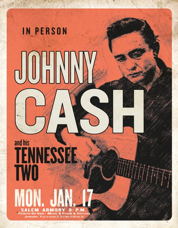 Johnny Cash - In Person and His Tennessee Two