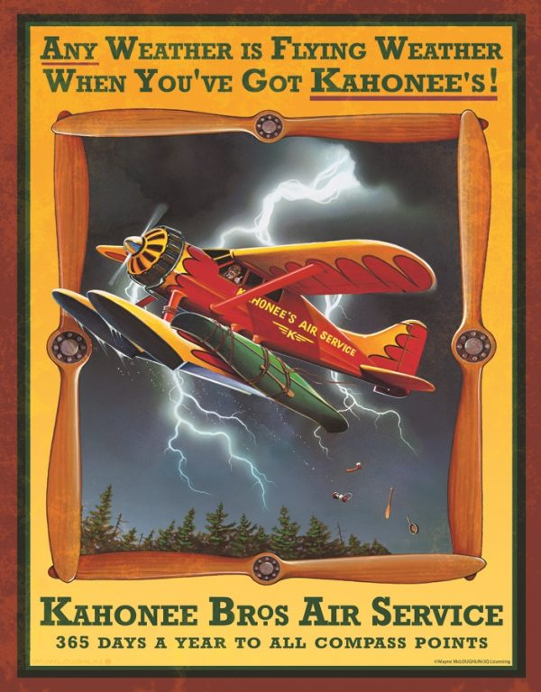 Kahonee Bros. Air Service - Any Weather is Flying Weather When You've Got Kahonee's