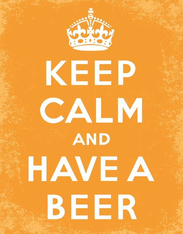 Keep Calm & Have A Beer