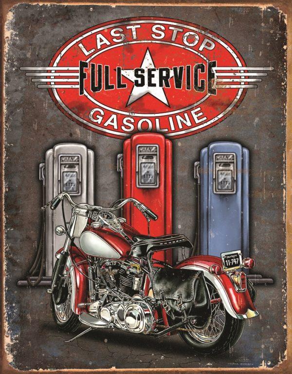 Last Stop Full Service Gasoline