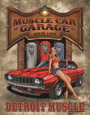 (Legends) Muscle Car Garage. Detroit Muscle