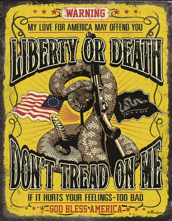 Liberty Or Death - Don't Tread On Me