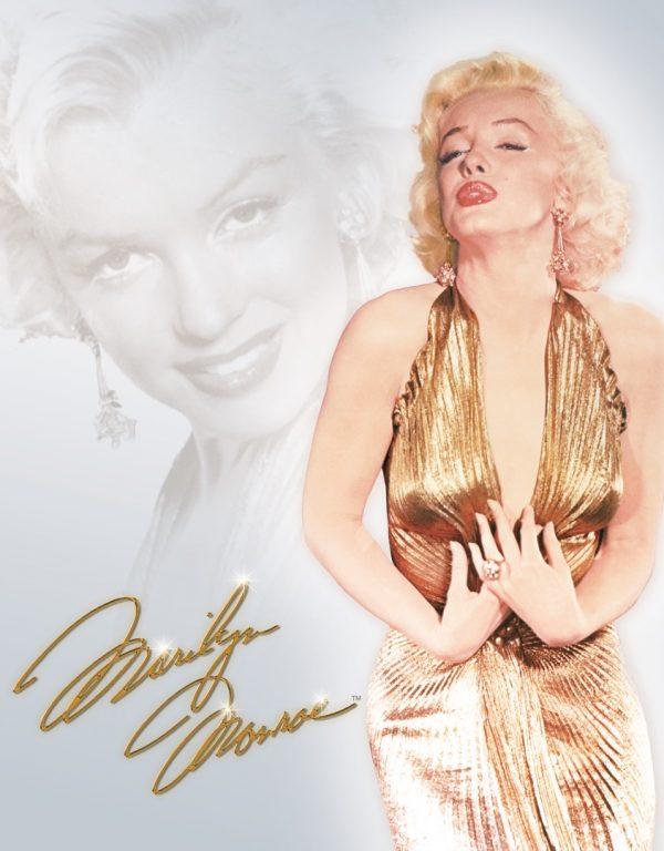 Marilyn Monroe (In A Gold Dress)